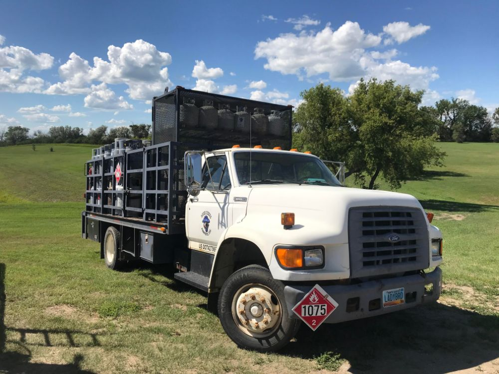 propane delivery truck